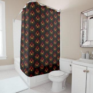 Seven deadly sins shower curtain