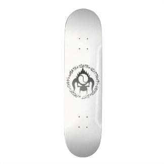 Seven deadly sins skateboard