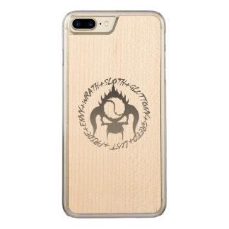 Seven deadly sins Slim Maple Wood phone Case