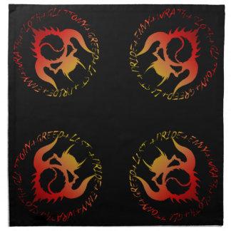 Seven deadly sins table cloths