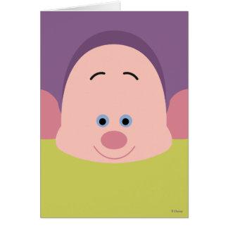 Seven Dwarfs - Dopey Character Body Card