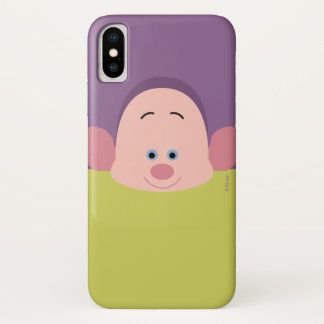Seven Dwarfs - Dopey Character Body iPhone X Case