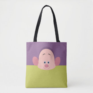 Seven Dwarfs - Dopey Character Body Tote Bag