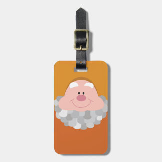 Seven Dwarfs - Happy Character Body Luggage Tag