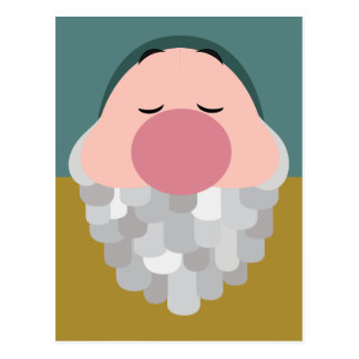Seven Dwarfs - Sleepy Character Body Postcard