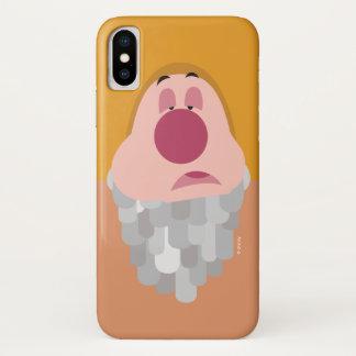 Seven Dwarfs - Sneezy Character Body iPhone X Case