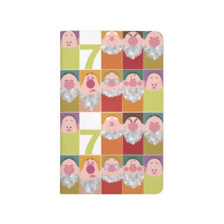 Seven Dwarfs Stylized Character Art Journal