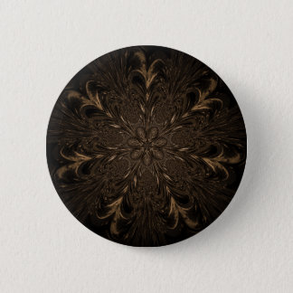 Seven Feathered Wheels 2 Inch Round Button