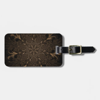 Seven Feathered Wheels Luggage Tag