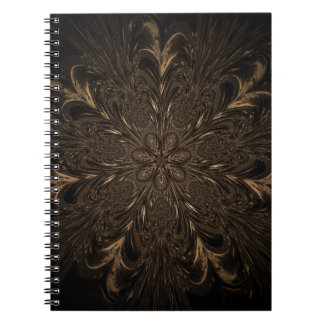 Seven Feathered Wheels Spiral Notebook