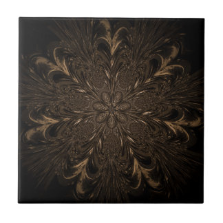 Seven Feathered Wheels Tile