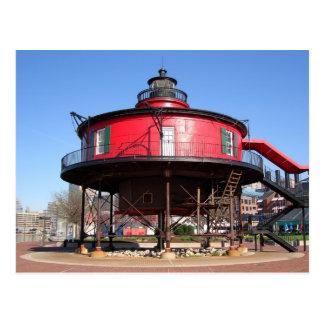 Seven Foot Knoll Lighthouse Postcard