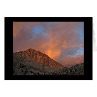 Seven Gables from Vee Lake - John Muir Wilderness Card