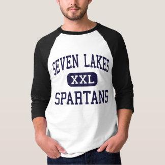 Seven Lakes - Spartans - High School - Katy Texas T-Shirt