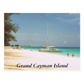 Seven Mile Beach, Grand Cayman Island Postcard