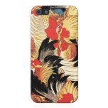 Seven Roosters, Hokusai iPhone 5 Cover
