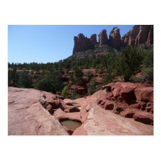 Seven Sacred Pools in Sedona Arizona Postcard