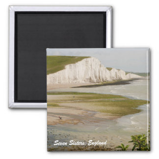 Seven Sisters and Beachy Head Magnet
