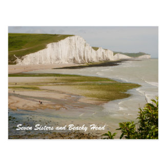 Seven Sisters and Beachy Head Postcard