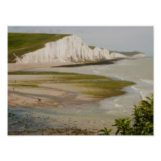 Seven Sisters and Beachy Head Poster