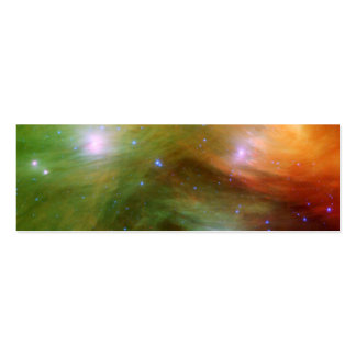 Seven Sisters Pleiades Stars Space Business Card Template
