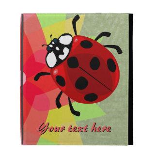 Seven-Spotted Ladybug iPad Folio Cover