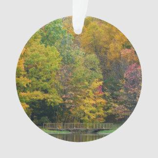 Seven Springs Fall Bridge II Ornament