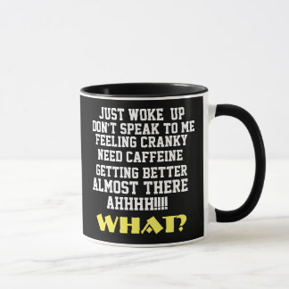 Seven Stages To Alertness Coffee Mug