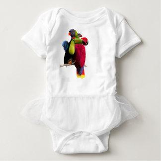 Seven Tropical Bird's Baby Bodysuit