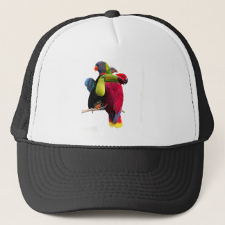 Seven Tropical Bird's Trucker Hat