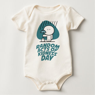 Seventeenth February - Random Acts Of Kindness Day Baby Bodysuit