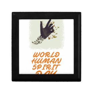 Seventeenth February - World Human Spirit Day Gift Box
