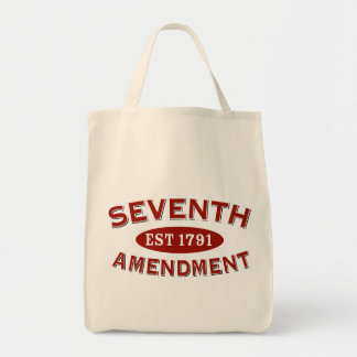Seventh Amendment Est 1791 Tote Bags