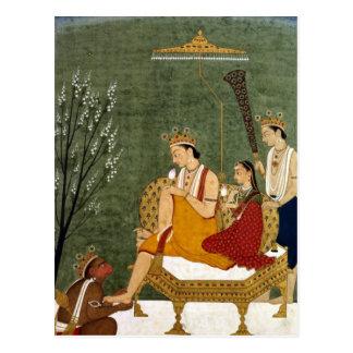 Seventh Incarnation of Vishnu as Rama-Chandra Postcard