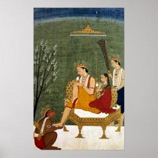 Seventh Incarnation of Vishnu as Rama-Chandra Poster