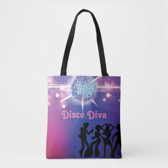 Seventies Retro theme Disco Bag
