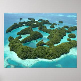 Seventy Islands, Palau Poster