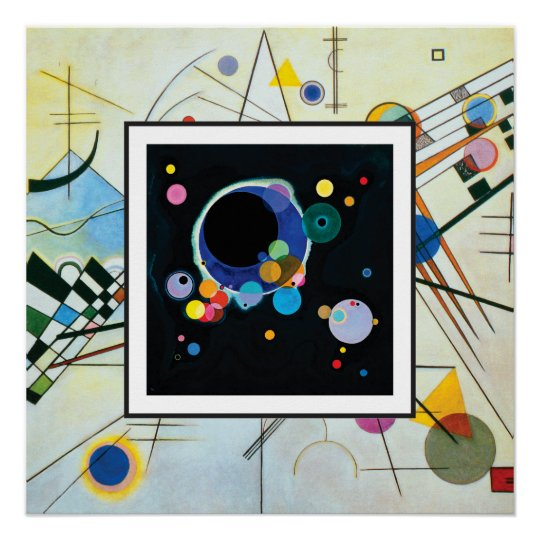 Several Circles in Composition VIII by Kandinsky Poster