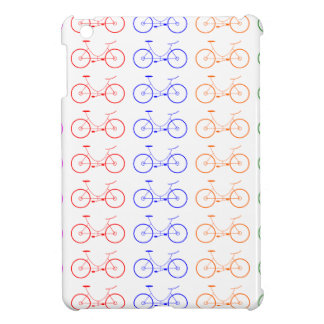 Several colorful bycicle iPad mini case