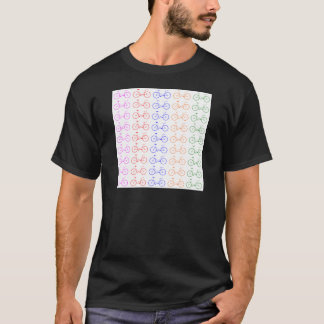 Several colorful bycicle T-Shirt