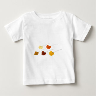Several seasoning spices on porcelain spoons baby T-Shirt