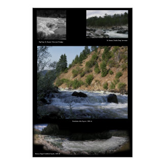 Several Whitewater pictures Poster