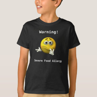 Severe Food Allergy Shirt