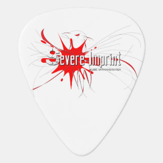 Severe Imprint Guitar Pick
