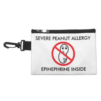 Severe Peanut Allergy Emergency Pouch