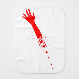 Severed Arm Burp Cloth