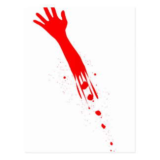 Severed Arm Postcard
