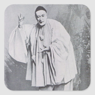 Severin as Pierrot Square Sticker