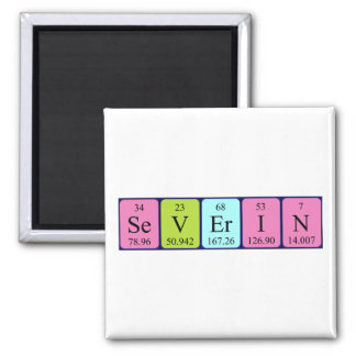 Severin periodic table name magnet