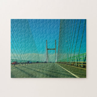 Severn Bridge Wales Jigsaw Puzzle